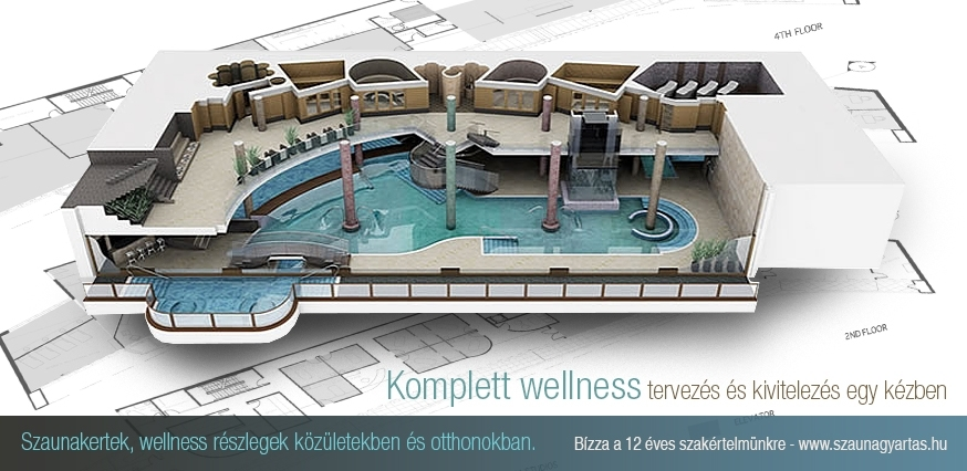 Komplett wellness tervezés és építés